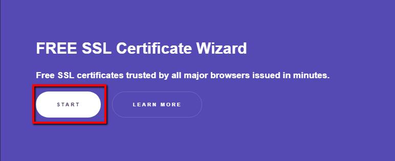 Start SSL